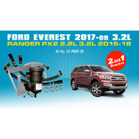 Everest & PX2 Ranger 2on1 Bracket ProVent Oil Catch Can