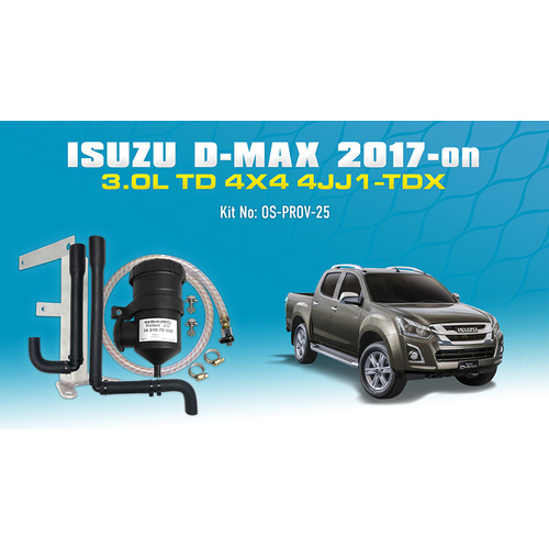 D-MAX/MUX 2017+ ProVent Oil Catch Can